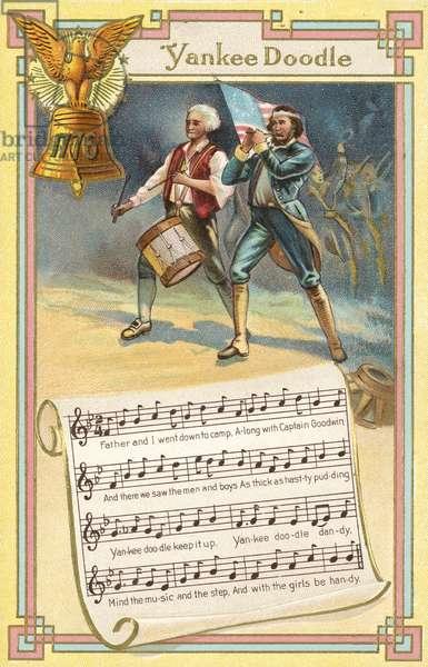 Yankee Doodle (colour litho)