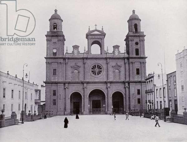 Las Palmas: Cathedral (b/w photo)