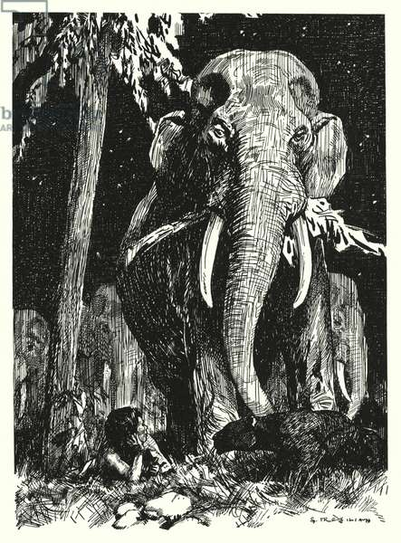 Letting In The Jungle (litho)