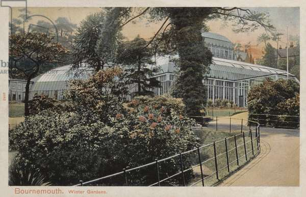 Winter Gardens, Bournemouth (coloured photo)