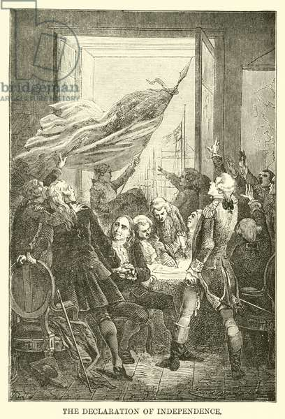 The Declaration of Independence (engraving)