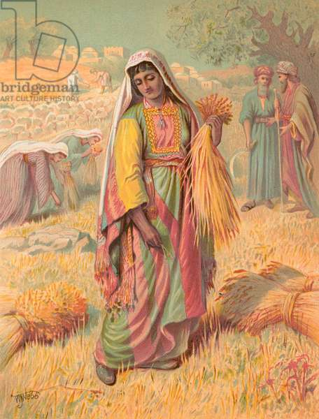 Ruth (chromolitho)