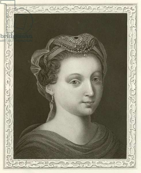 Mary Stuart, Queen of Scotland (engraving)