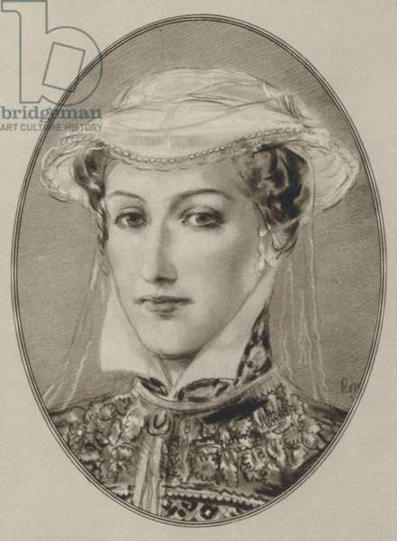 Mary Queen of Scots (litho)