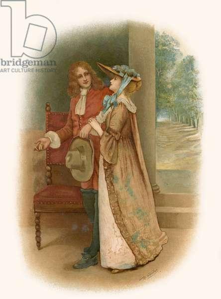 Tennyson's The Lord of Burleigh