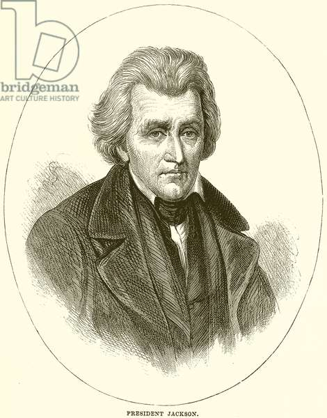 President Jackson (engraving)