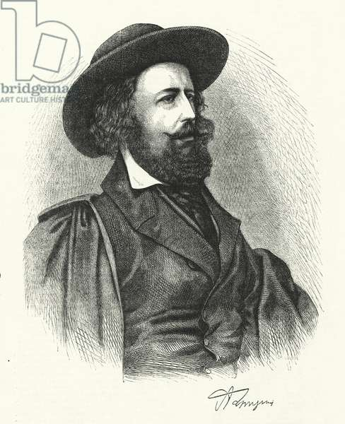 Alfred Lord Tennyson (engraving)