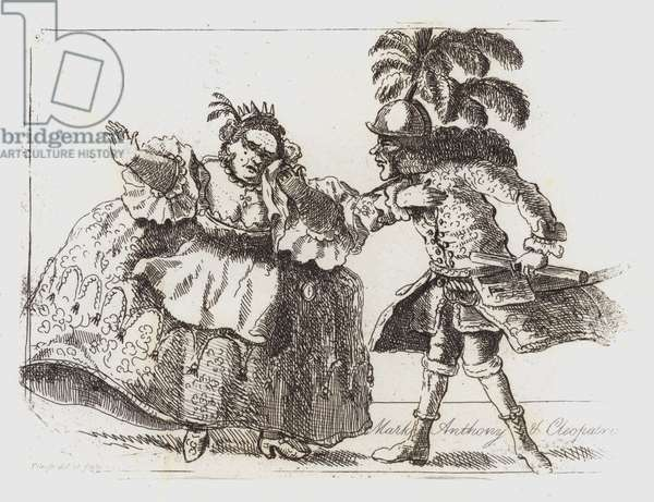 Mark Anthony and Cleopatra (engraving)
