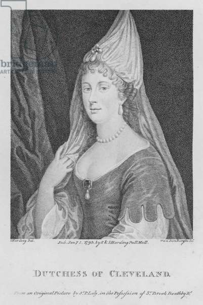 Dutchess of Cleveland (engraving)