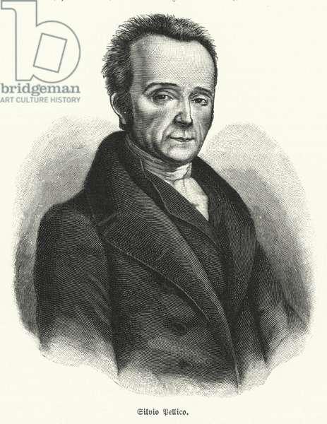 Silvio Pellico, Italian poet, playwright and patriot (litho)