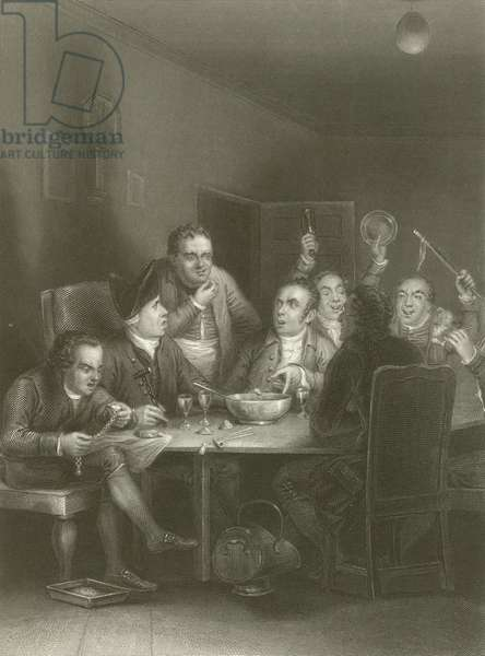 The Clubbists (engraving)