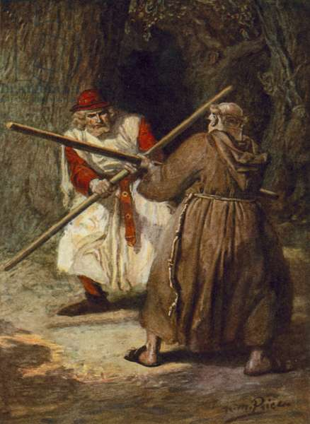 Tennyson, The Foresters (colour litho)