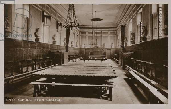 Upper School, Eton College (b/w photo)