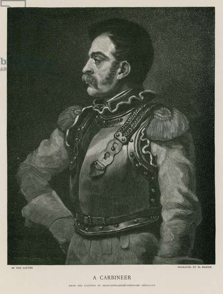 A carbineer (engraving)
