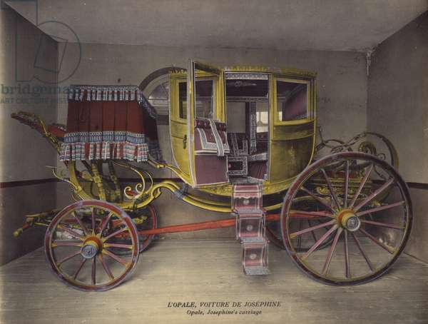 Malmaison: L'Opale, Voiture De Josephine; Opale, Josephine's carriage (photo)