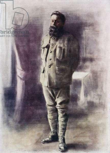 Duke of Norfolk (colour litho)