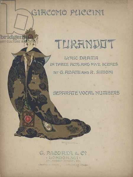 Turandot (colour litho)