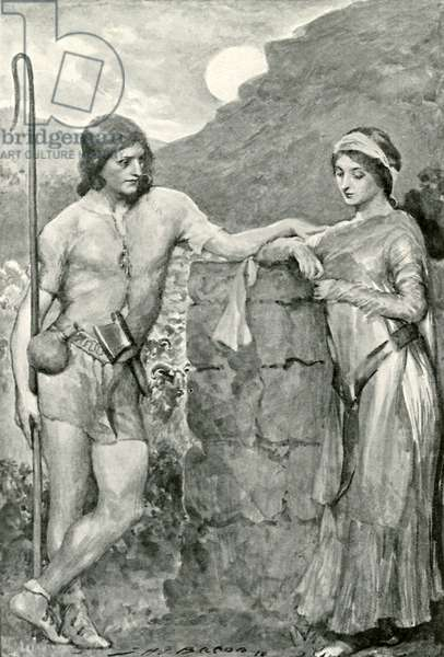 Olaf and Sigrid (litho)