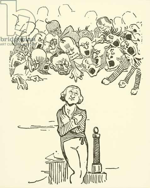 Sir Humphrey Davy (litho)