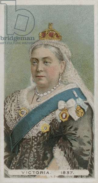 Queen Victoria (chromolitho)