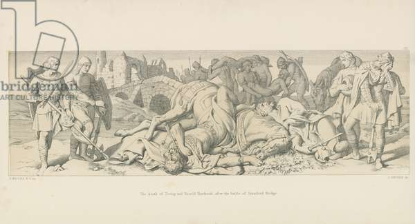 The Death of Tostig and Harold Hardrada, after the Battle of Stamford Bridge
