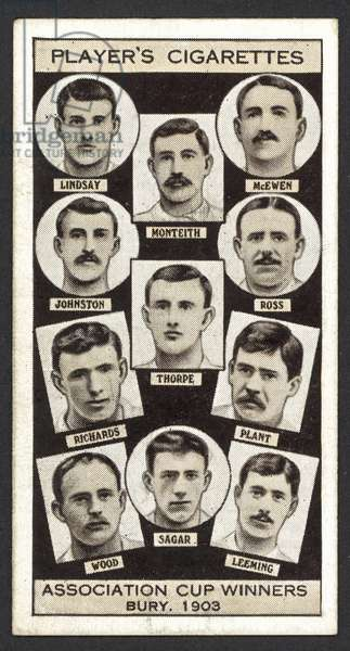 Association Cup Winners, Bury, 1903 (litho)