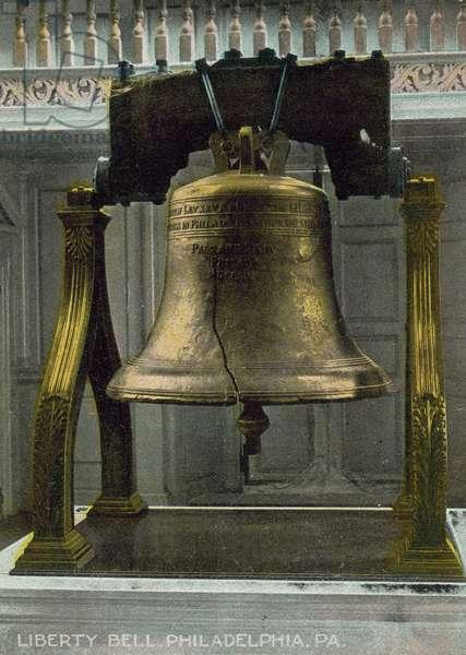 Liberty Bell, Philadelphia, Pennsylvania, USA (colour photo)