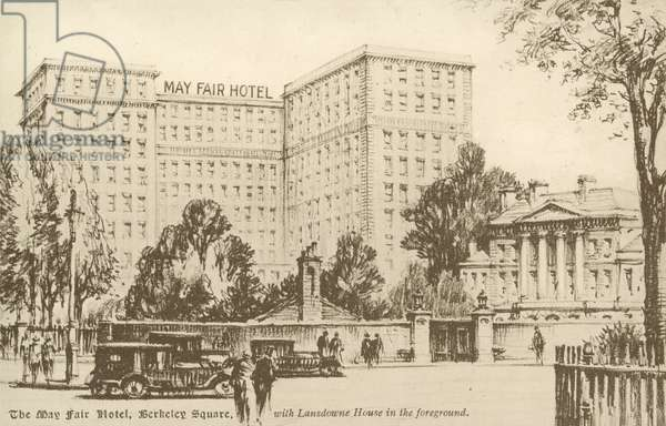 The May Fair Hotel, Berkeley Square (litho)
