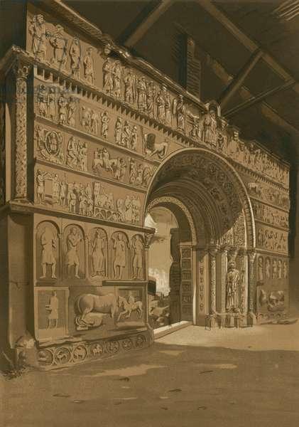 Triumphal arch of Santa Maria de Ripoll