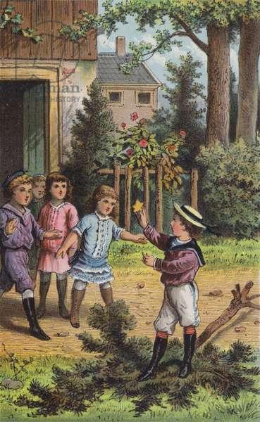 The Fir-Tree (colour litho)