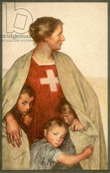 Swiss Red Cross (colour litho)