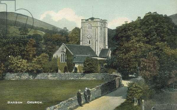 Barbon Church, Cumbria (colour photo)