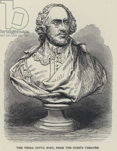 The Terra Cotta Bust, from the Duke's Theatre (engraving)