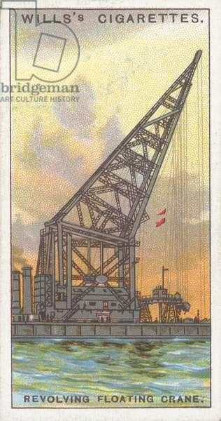Revolving Floating Crane