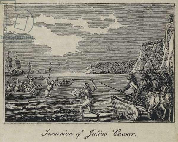Invasion of Julius Caesar (engraving)