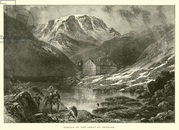 Hospice of the Great St Bernard (engraving)