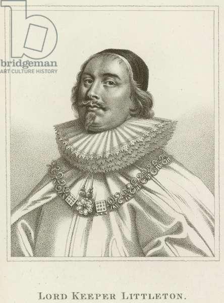 Lord Keeper Littleton (engraving)