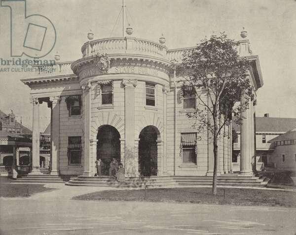 Rhode Island's Building (b/w photo)