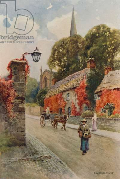 Bakewell, South Church Street (colour litho)