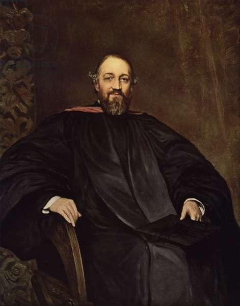 The Reverend H Montagu Butler, DD (colour litho)