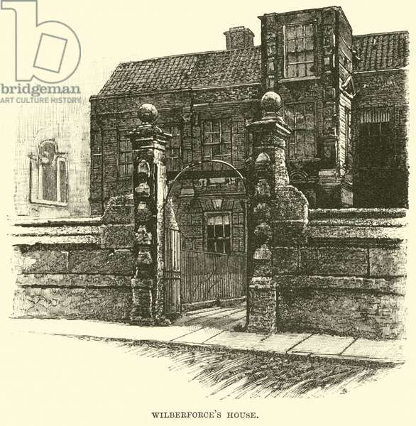 Wilberforce's House (engraving)
