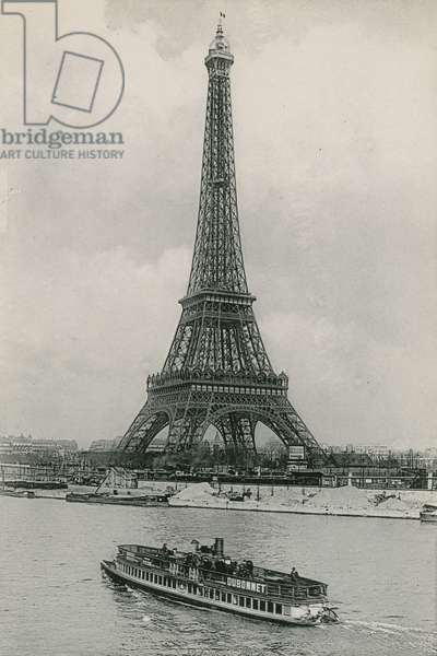 La Tour Eiffel, The Eiffel Tower (photogravure)