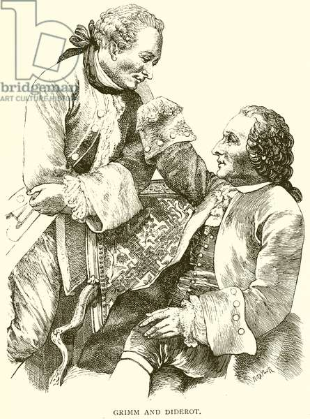 Grimm and Diderot (engraving)