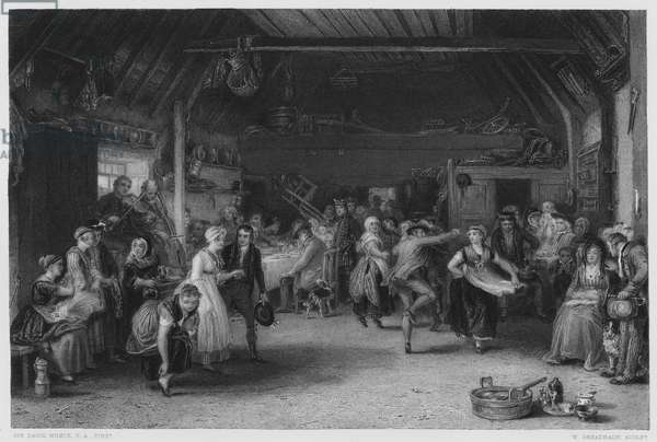 The Penny Wedding, the picture in the Royal Collection (engraving)