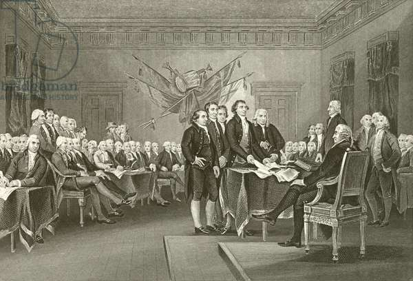 Declaration of Independence (engraving)