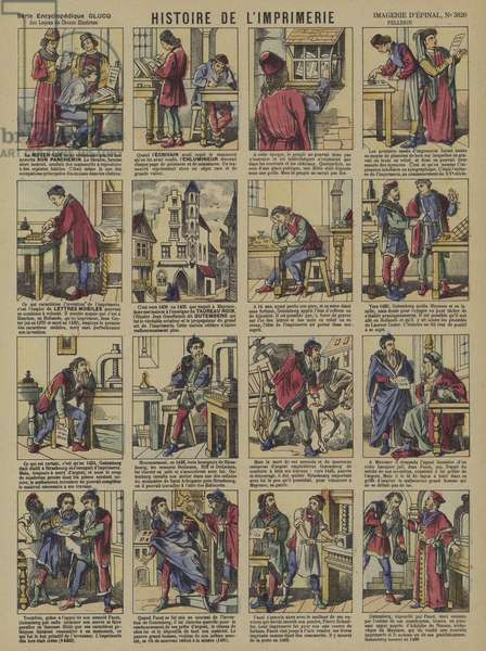 The story of printing (colour litho)