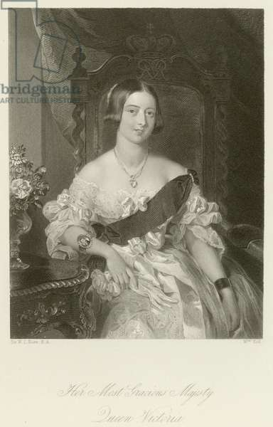 Her Most Gracious Majesty Queen Victoria (engraving)