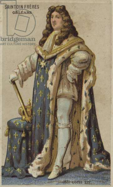 Louis XIV (chromolitho)