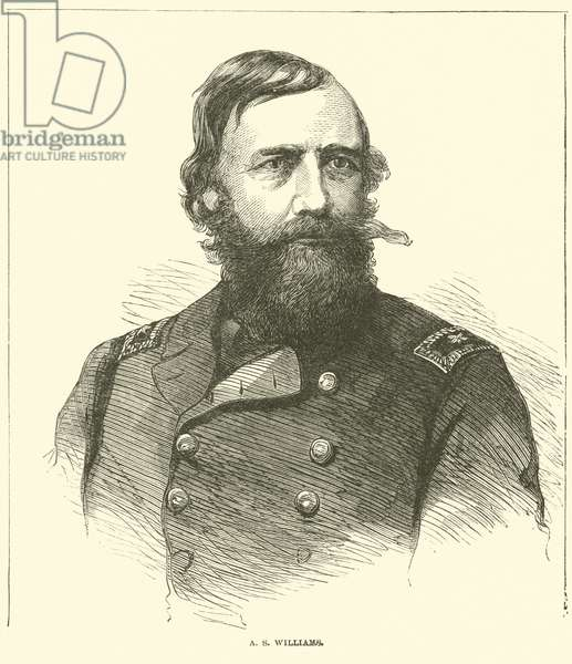 A S Williams, March 1865 (engraving)