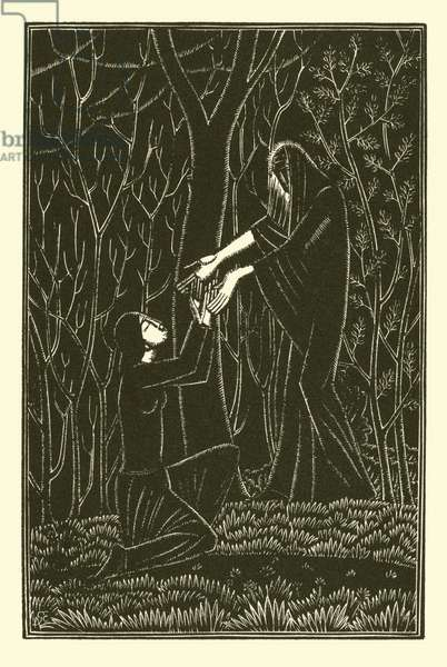 Death And The Lady (litho)